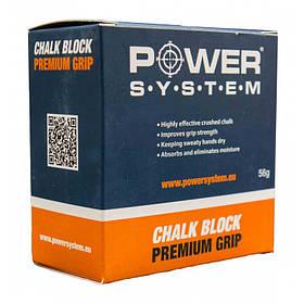Магнезия Блок PowerSystem Chalk Block 56G SKL24-277251