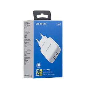 Сетевое зарядное устройство Borofone BA18 2USB SKL11-231521