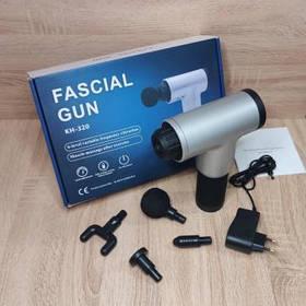 Портативний ручний масажер для тіла Fascial Gun KH-320 М'язовий SKL11-229217