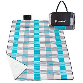 Килимок для пікніків і кемпінгу складаний Springos 240 x 200 см SKL41-277750