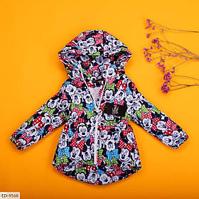 Дитячий демісезонний парку міккі різнобарвна SKL11-260956