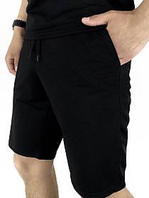 Чоловічі шорти трикотажні LaCosta чорні SKL59-259650