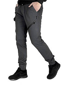 Чоловічі штани сірі Fast Traveller SKL59-259536