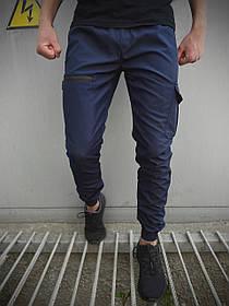 Мужские штаны синие Flash Light SKL59-259488