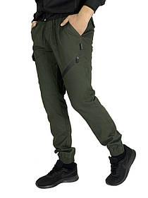 Чоловічі штани хакі Fast Traveller SKL59-259537