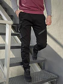 Мужские штаны черные Fast Traveller SKL59-259534