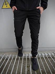 Чоловічі штани чорні Flash Light SKL59-259486