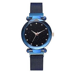 Годинник Starry Sky Watch жіночі на магнітній застібці, сині SKL11-189660