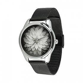 Годинник Ziz Астра, ремінець з нержавіючої сталі чорний і додатковий ремінець SKL22-142794
