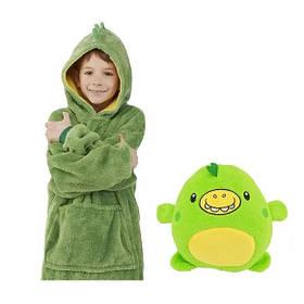 Детская толстовка с капюшоном худи Huggle Pets трансформер в игрушку SKL11-276471