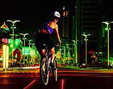 Задня фара з лазером для велосипеда SKL32-152619, фото 2