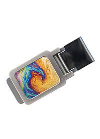 Зажим для денег DM 01 Краски разноцветный SKL47-177308