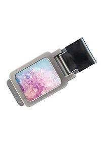 Зажим для денег DM 01 Кристалл разноцветный SKL47-177312