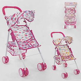 Коляска для кукол розовая SKL11-252506