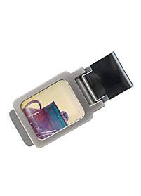 Затиск для грошей DM 01 Сова в глечику різнобарвний SKL47-177303
