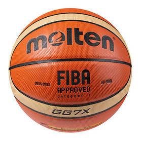 Мяч баскетбольный Molten 7 PU GG7X 2015-2019 SKL11-282465