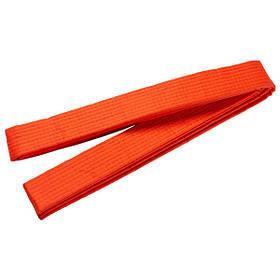 Пояс для кимоно World Sport оранжевый 280 см SKL11-281529