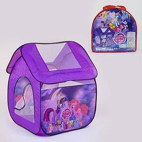 Палатка детская Пони 112 х102 х114 см, в сумке SKL11-185399