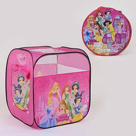 Намет дитячий Принцеси Дісней 72 х 72 х 92 см, в сумці SKL11-185403