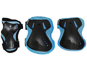 Комплект защитный SportVida SV-KY0005-M Size M Blue-Black SKL41-227695