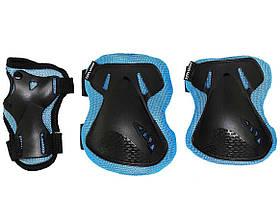 Комплект защитный SportVida SV-KY0005-S Size S Blue-Black SKL41-227696