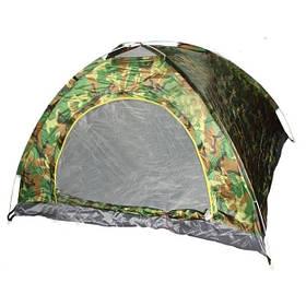 Двомісна Палатка туристична автомат камуфляж SKL11-239422