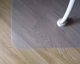 Захисний підлоговий килимок під крісло Oscar Ультра 1 мм 1000х1250мм прозорий SKL54-240923