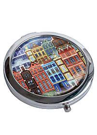 Зеркальце косметическое DM 01 Голландия разноцветное SKL47-176831