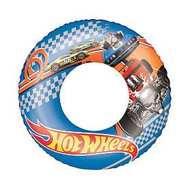 Дитячий надувний круг для плавання Bestway 93401 Хот Вілс, 56 см SKL11-250442