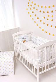 Детский постельный набор Бэйби - принцесс сатин SKL20-240448