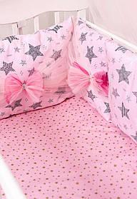 Детский постельный набор Бэйби-пинк сатин SKL20-240446