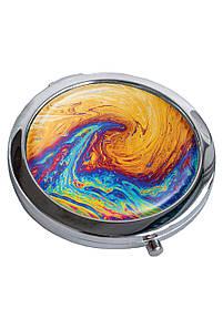 Зеркальце косметическое DM 01 Краски разноцветное SKL47-176852