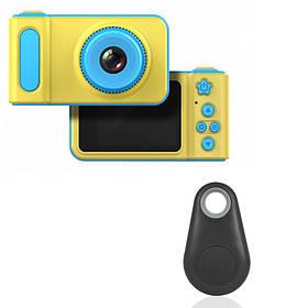 Дитячий фотоапарат з записом відео і кольоровим екраном у подарунок Локаційний Брелок SKL11-277574
