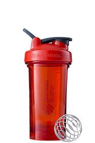 Спортивна пляшка-шейкер BlenderBottle Pro24 Tritan 710ml Red SKL24-144921