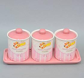 Набір банок для сипких продуктів Sweet SKL11-209720