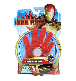 Перчатка Железного Человека со световыми и звуковыми эффектами Iron Man glove SKL14-279066