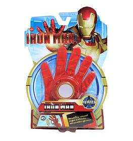 Рукавичка Залізної Людини зі світловими і звуковими ефектами Iron Man glove SKL14-279066