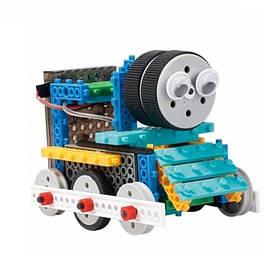 Конструктор LongYeah R722 4-в-1 паровозик, машинка, лижник, робот SKL17-139964