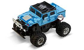 Джип мікро Gwt 2207 на радіокеруванні, 40MHz, масштаб 1к58, блакитний SKL17-139537
