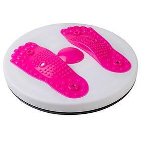 Диск здоровья World Sport магнитный с массажем стоп розовый SKL11-281114
