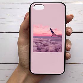 Чехол Mood для iPhone 5/5s/Se с рисунком Крыло самолета SKL68-284279