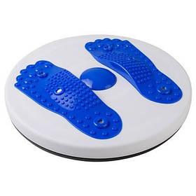 Диск здоровья World Sport магнитный с массажем стоп синий SKL11-281116