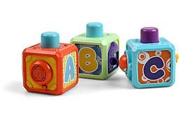 Розвиваюча іграшка Kidian музичні інтерактивні кубики SKL17-223465
