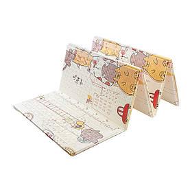 Розвиваючий дитячий килимок двосторонній 4FIZJO Kids 200 x 155 x 1 см SKL41-277899