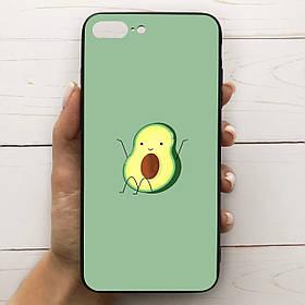 Чехол Mood для iPhone 7 Plus/8 Plus с рисунком Авокадо сидит SKL68-287326