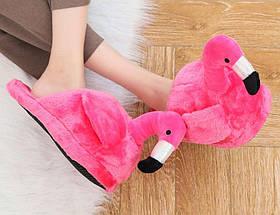Домашние тапочки Фламинго pink SKL32-189937