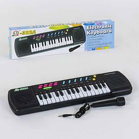 Піаніно на батарейці, з мікрофоном, 31 клавіша, 24 мелодії SKL11-185496