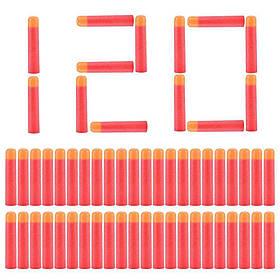 Набір з 120 стріл Мега - м'які кулі для іграшкової зброї Nerf Mega SKL14-138318
