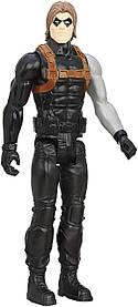 Іграшка-фігурка Hasbro, Зимовий Солдат, Марвел, 30 см Winter Soldier, Marvel, Titan Hero Series SKL14-261018