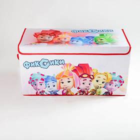 Коробка ящик для зберігання іграшок і дитячих речей Фиксики SKL18-254807